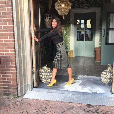 Foto van Maria Tailor Stacy skirt gold