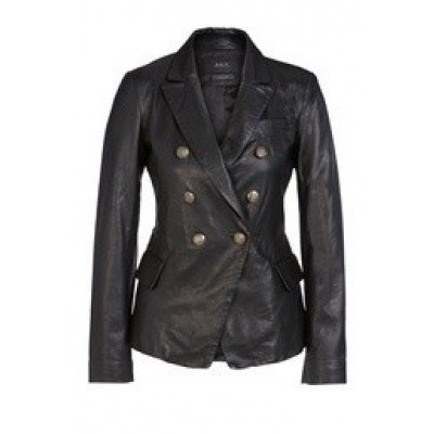 Foto van Set leather blazer style 63361