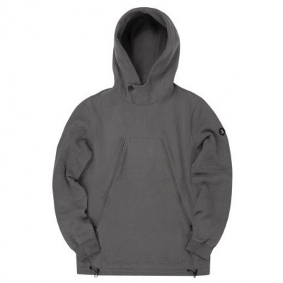 Foto van Koll3kt Hooded Luxury sweater Graphite