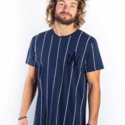 Amsterdenim T-shirt Jan Kees Navy Blue