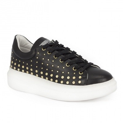 Foto van Deabused Shoe Studs Black