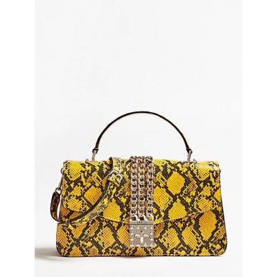 Foto van Guess Handbag Prisma Python PG729918 Geel