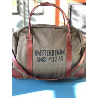 Foto van Amsterdenim bag Abel Army Green