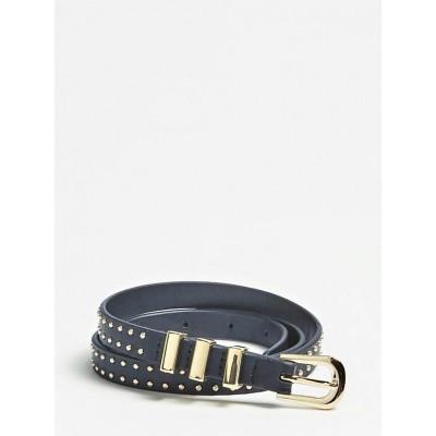 Foto van Guess Belt small Studs gold Black