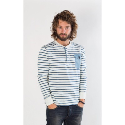 Amsterdenim Jan-Paul Blue Stripes