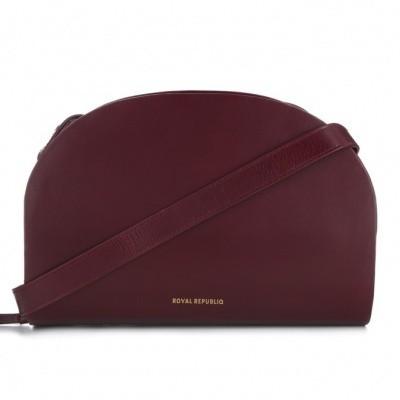 Royal Republic Galax Curve handbag Bordeaux