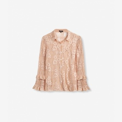 Foto van Alix the Label Woven Lace Blouse