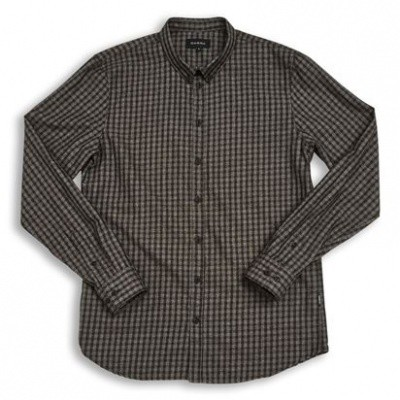 Foto van Gabba Brooks Melange Check L/S Shirt