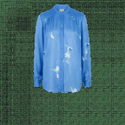 Dante6 Bia Flower blouse Sky Blue