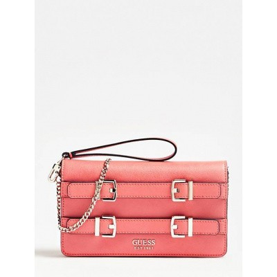 Foto van Guess Clutch Jori Mini VG730071 Coral