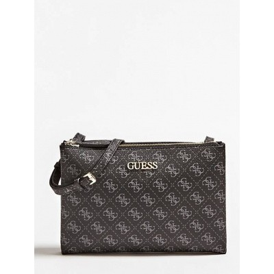 Foto van Guess Cross Body Bag Maci Mini logo Black