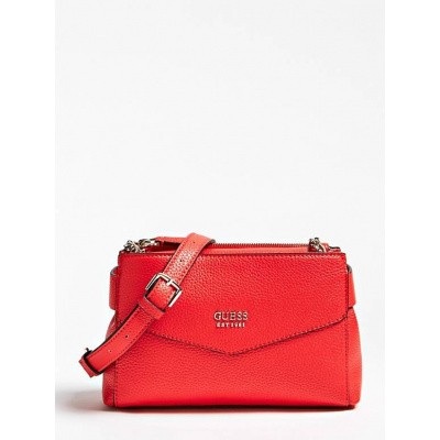 Foto van Guess Cross Body Bag Colette mini Red