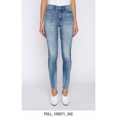 Foto van Drykorn Jeans Pull 109371 Blue stripe