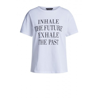 Set T-shirt Style 64582 Inhale the Future White