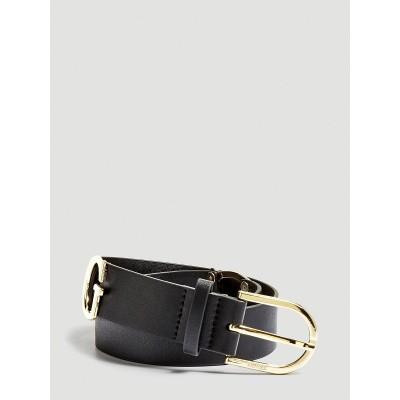 Foto van Guess Logo belt black / gold