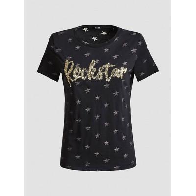 Foto van Guess T-shirt Rockstar Donkergrijs