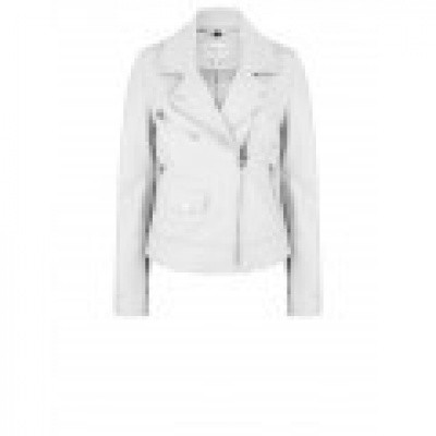 Foto van Dante 6 Phaidon Leather Jacket Optic White