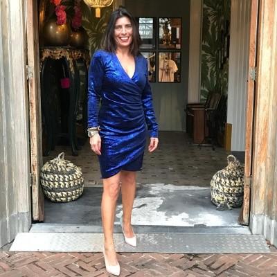 Foto van Maria Tailor Devan dress Admiral blue
