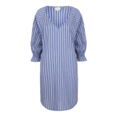 Foto van Dante6 Ashby striped dress Blue