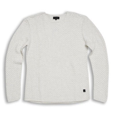 Gabba Mikkel O-neck knit off white
