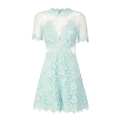 Guess laced playsuit mint