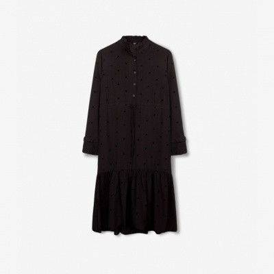 Alix the Label Woven Bull Long Dress