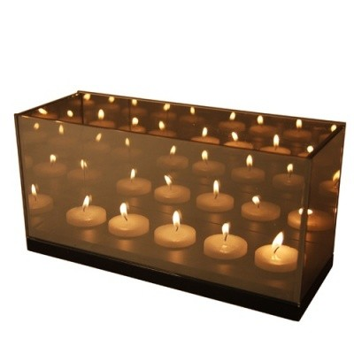 Foto van &Klevering Reflection tealight holder cinq