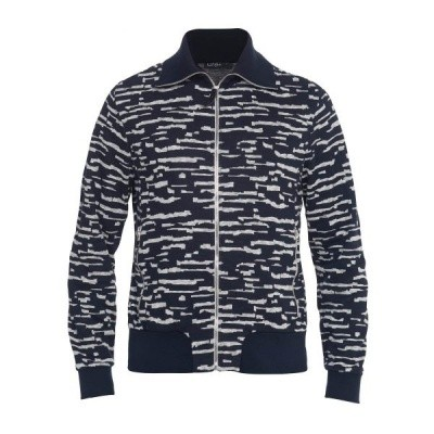 Foto van Koll3kt Loki Sweater Cardigan Dark Blue