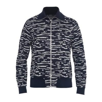 Koll3kt Loki Sweater Cardigan Dark Blue