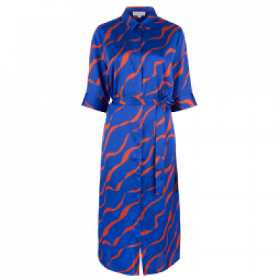 Dante6 Misty print Dress Rebel Blue
