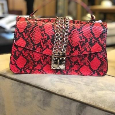 Foto van Guess Prisma Handbag Pg729918 Phyton Rood