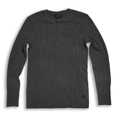 Gabba Rune O-neck Knit Grey melange