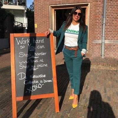 Drykorn pantalone Emom green