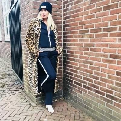 STAND Nicky Leopard Coat