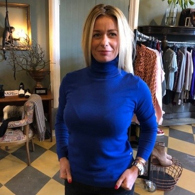 Foto van Trud the label Nova turtleneck blue