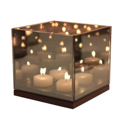 Foto van &Klevering Reflection tealight holder quarted