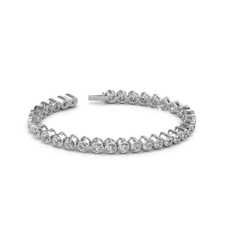 Tennisarmband Allegra 585 witgoud diamant 8.50 crt