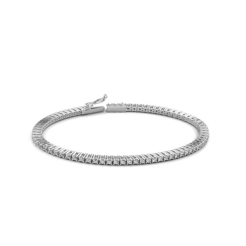 Tennisarmband Simone 585 witgoud diamant 2.16 crt