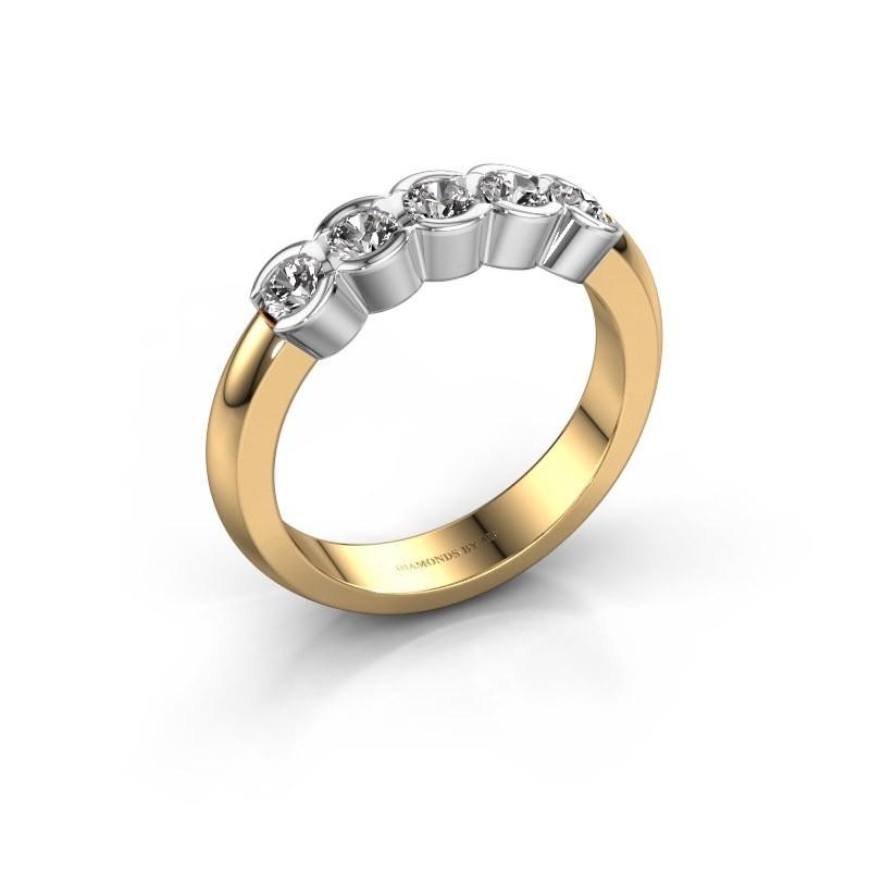 Verlovingsring Lotte 5 585 goud diamant 0.50 crt