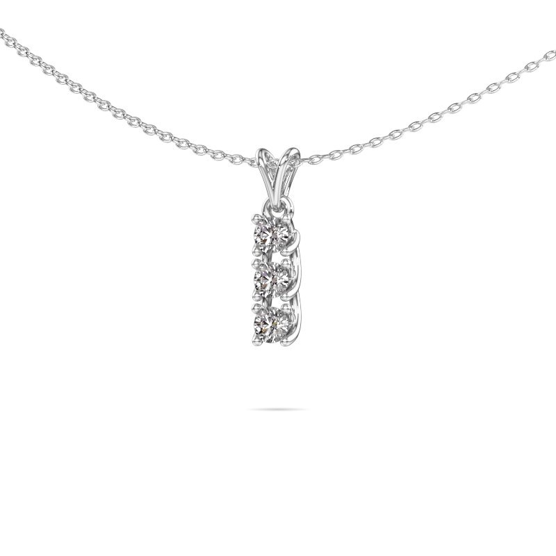 Hanger Fenna 585 witgoud diamant 0.30 crt