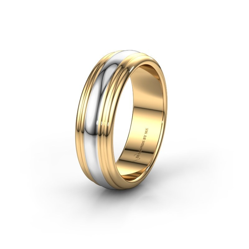 Trouwring WH2234MN 585 goud ±6x2 mm
