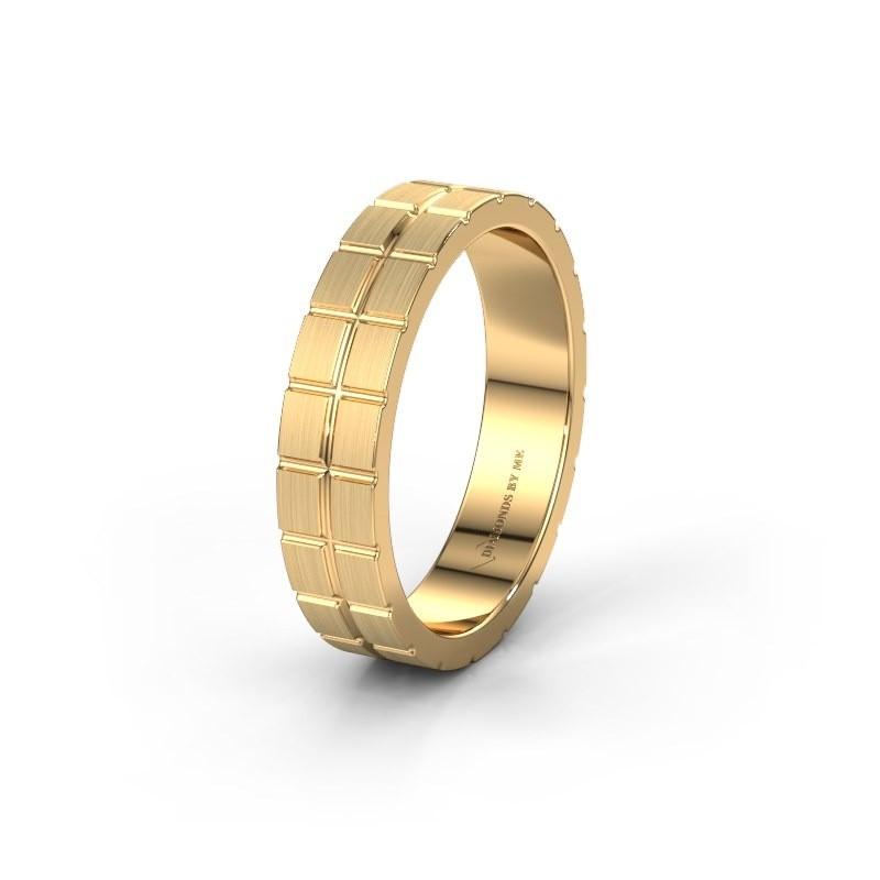 Trouwring WH2011M65BM 585 goud ±5x2 mm