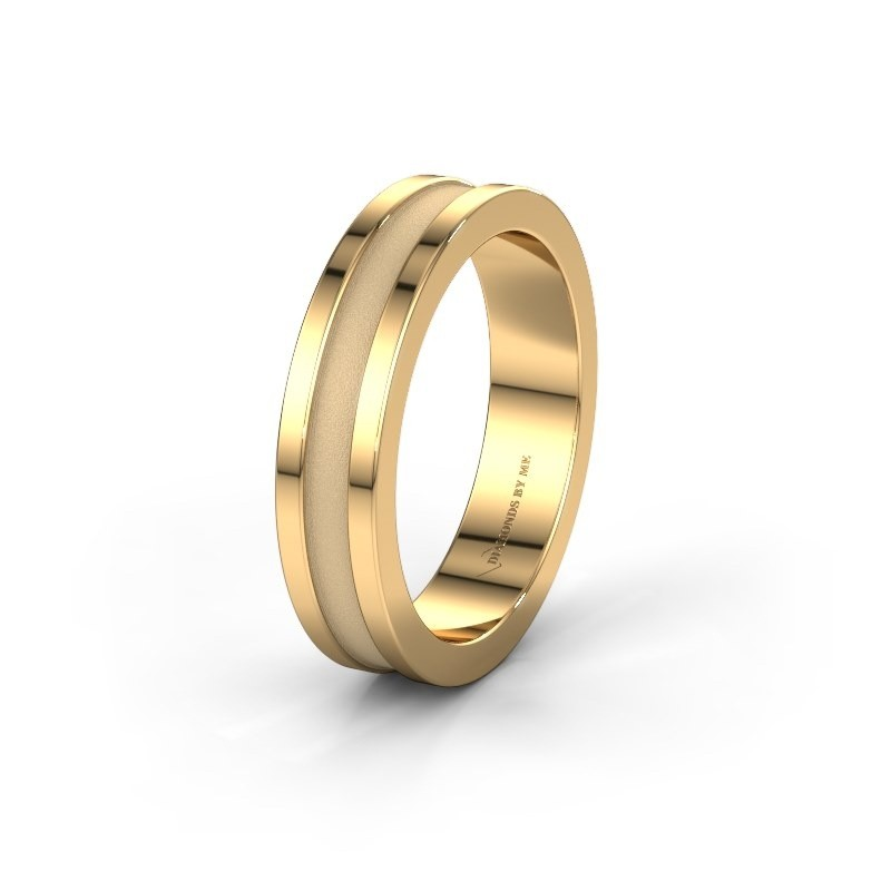Trouwring WH2001M 585 goud ±5x2 mm