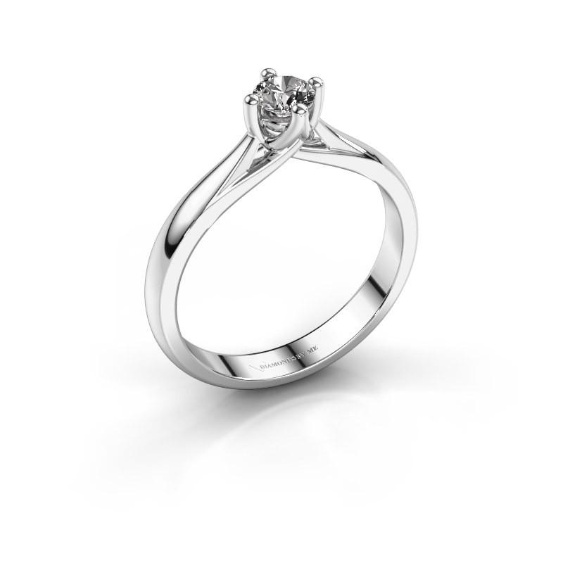 Gestalten Sie Den Weissgold Janne Solitarring Diamant Online 0 30 Crt