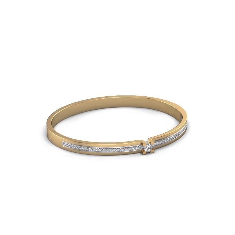 Armband Myrthe 585 goud diamant 0.742 crt