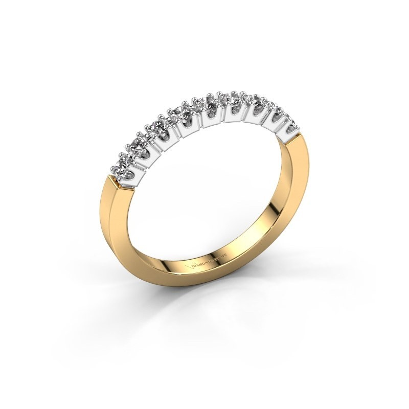 Verlovingsring Dana 9 585 goud diamant 0.27 crt