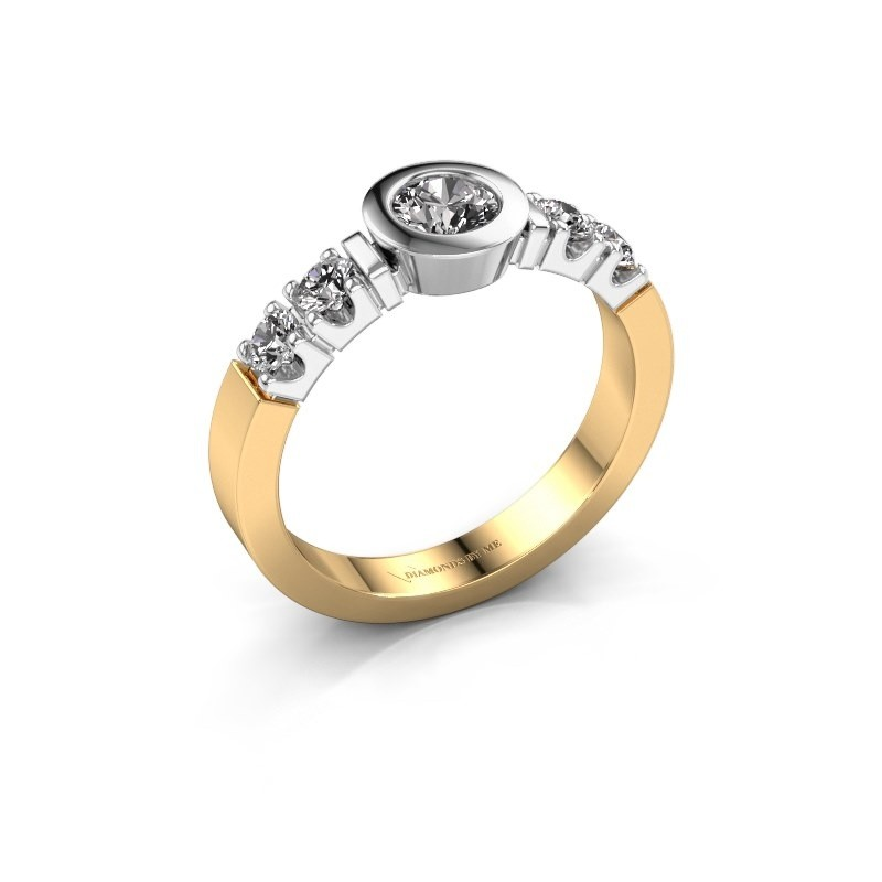 Verlovingsring Casey 585 goud diamant 0.62 crt