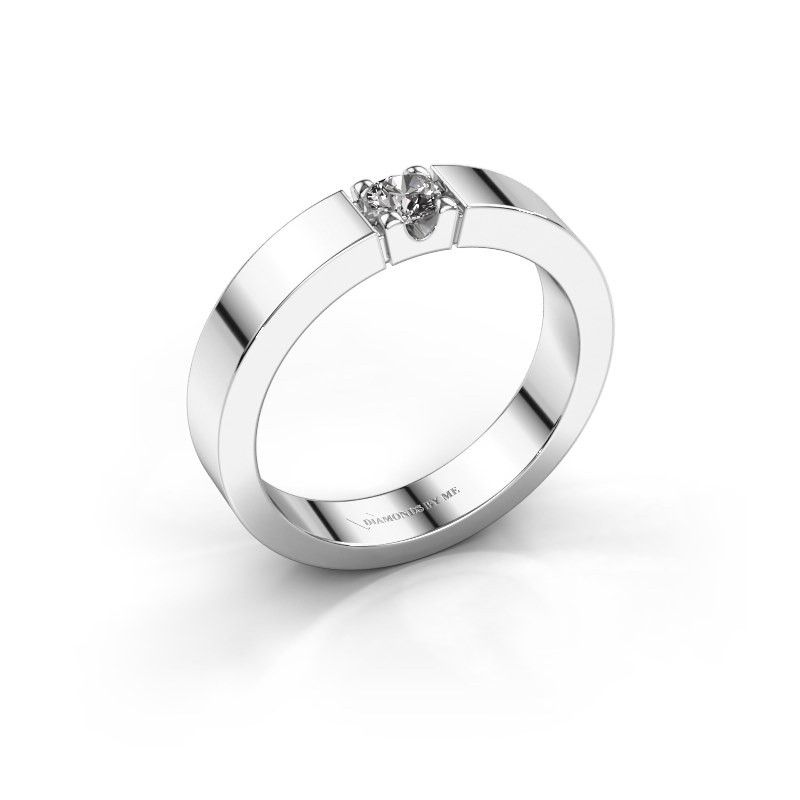 Belofte ring Dana 1 585 witgoud diamant 0.20 crt