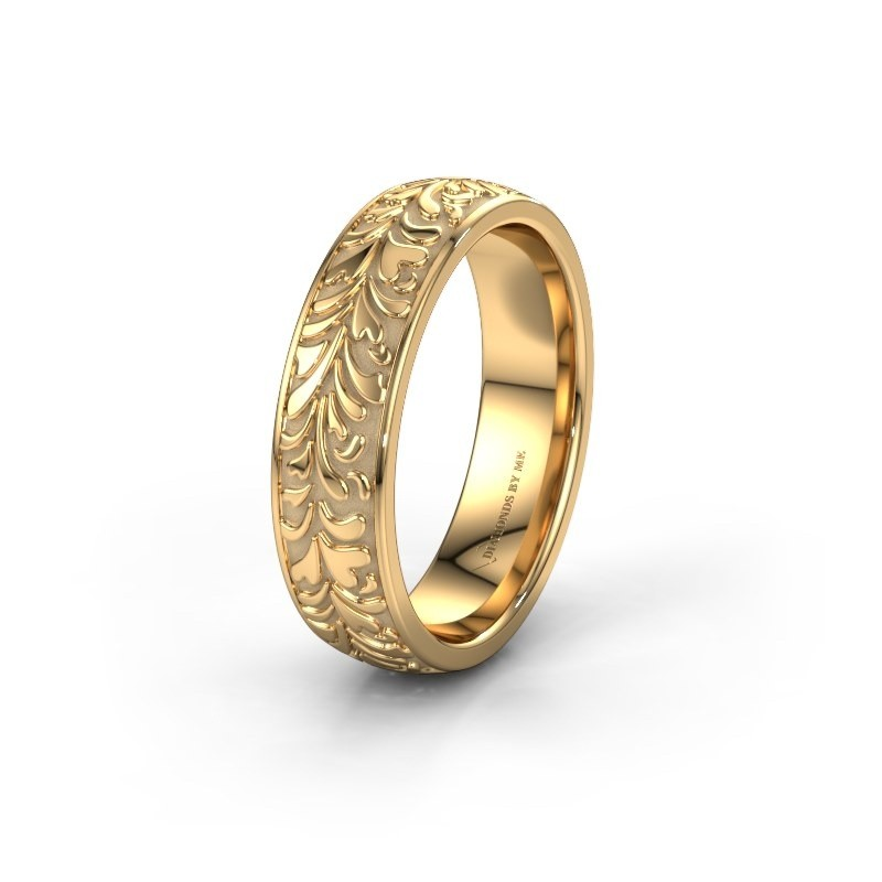 Trouwring WH2074M26D 585 goud ±6x2.4 mm