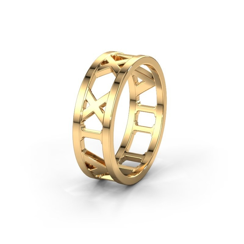 Trouwring TIMERING 585 goud ±6x1.7 mm